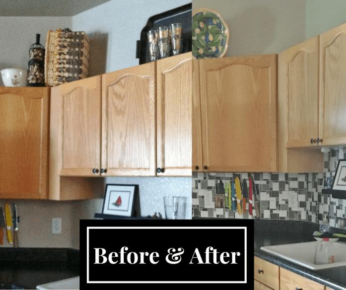 backsplash tile in kitchen