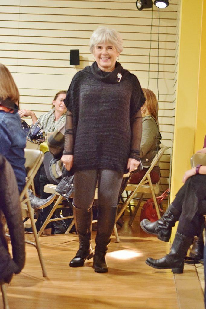 Ponchos at the fall fashion show