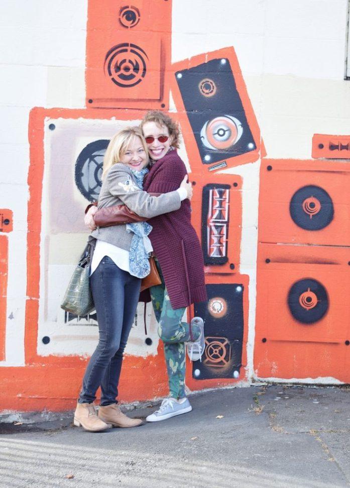 Sherry & Jodie in Seattle