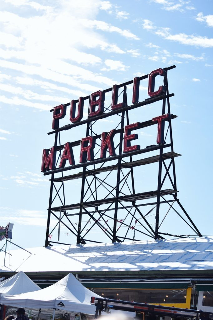 Pikes Peak Market in Seattle