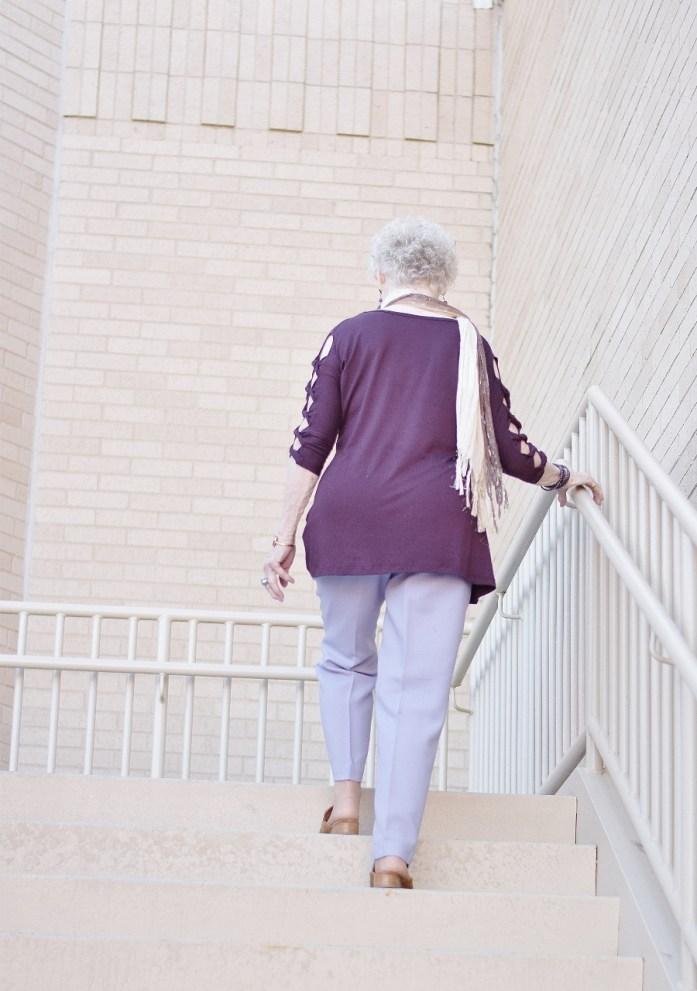 Women 70+ and dressy pants