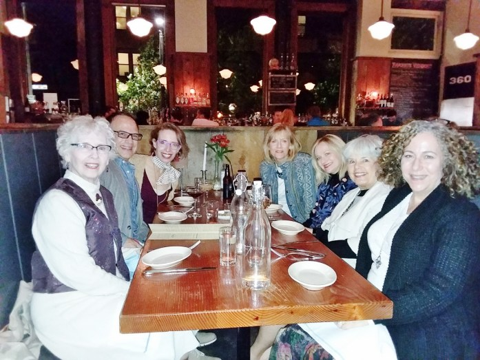 Dinner at Local 360 in Seattle