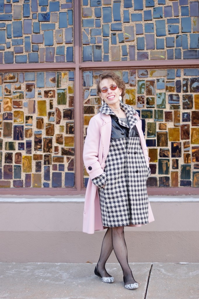 Women over 50 Layer your long coat