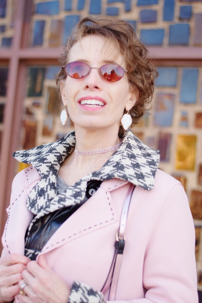 Layer your long coat for midlife women