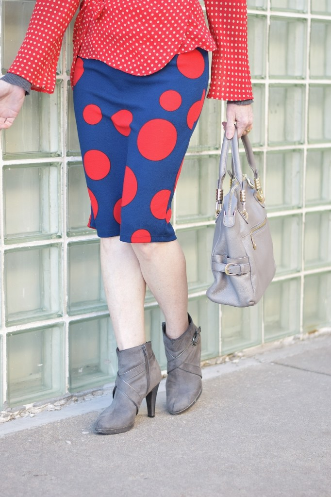 Adding in polka dots to Your colors for a spring season complexion