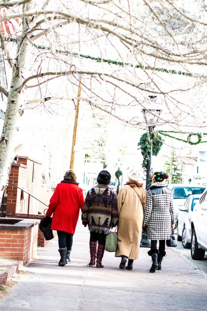Stylish winter wool coats for older women