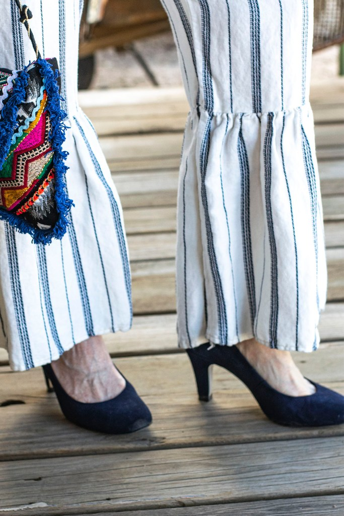 Navy blue heels