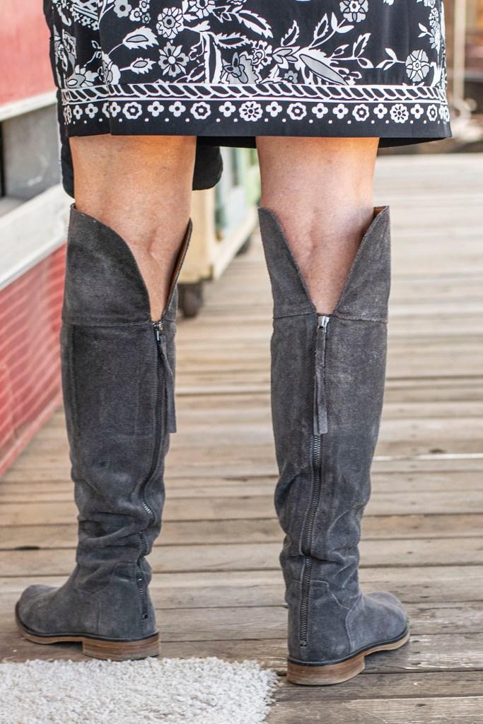 OTK boots for older women