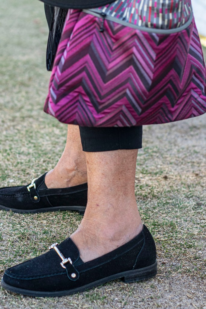 Walking cradles loafers