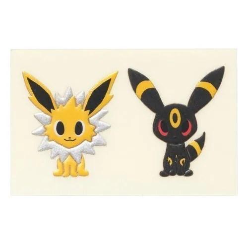 Pokemon Time Eevee Collection Transfer sticker – Jolton & Umbreon