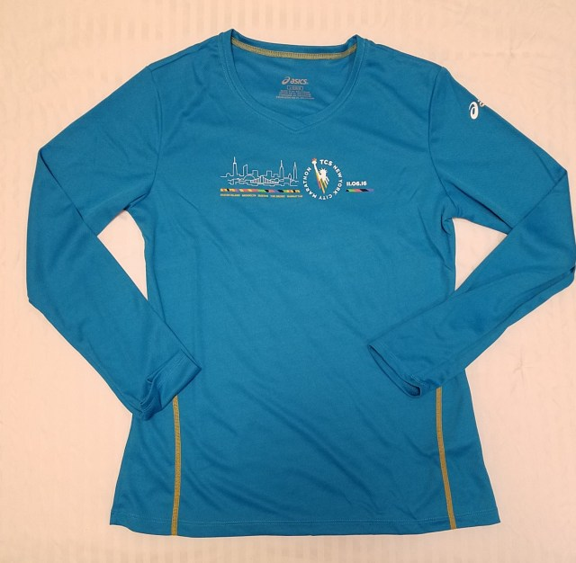 2016 New York City Marathon Shirt