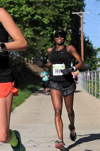 2017 Eugene Marathon - Mile 10-11