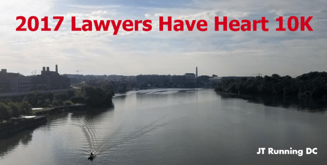 2017 Lawyers Have Heart 10K- Banner