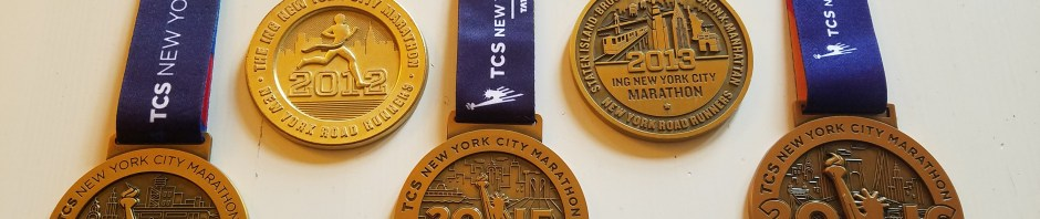 2012-2016 NYCM Medals