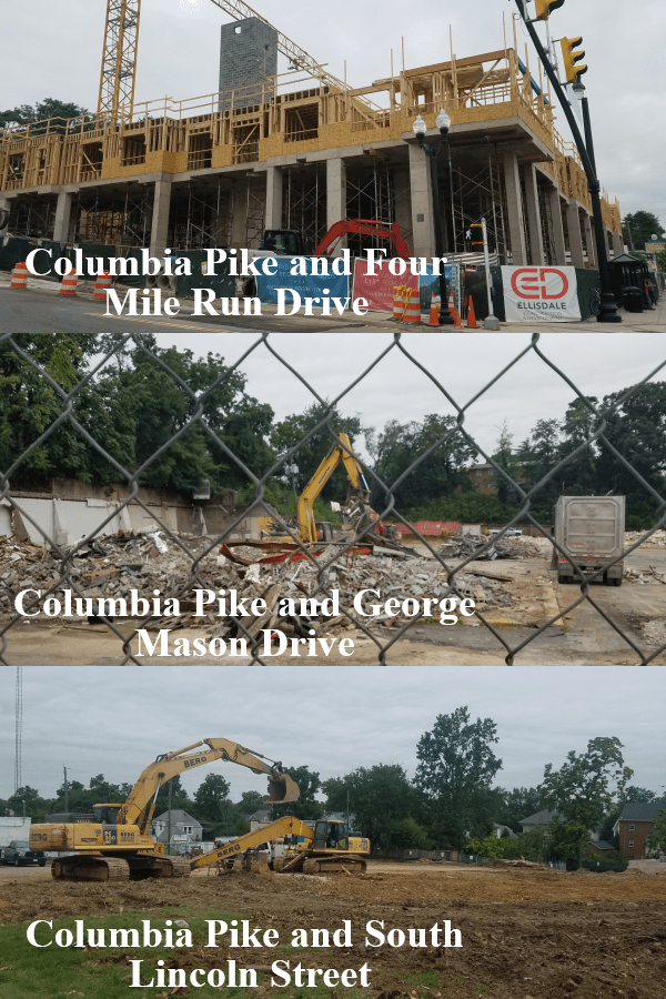 Columbia Pike Mile of Construction - 08112017