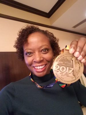 2017 New York City Marathon - Post Race with Medal - Hotel