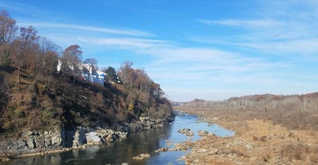View from Chain Bridge - 11252017