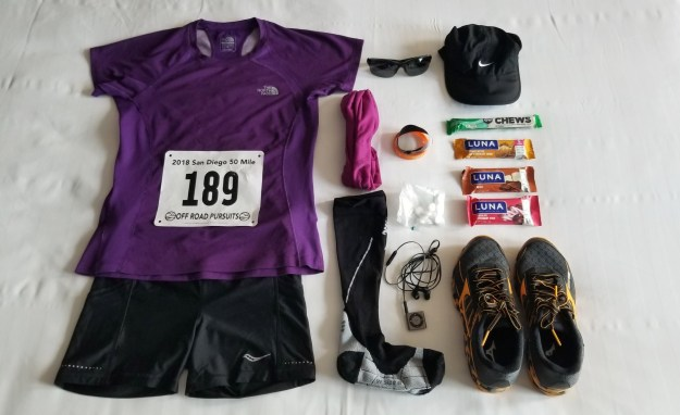2018 San Diego 50 Miler - Race Outfit