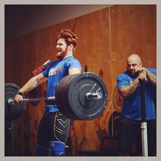 A combination of strength and aerobic capacity like TeamJTS' Reid Worthington is needed to excel in the sport of fitness.