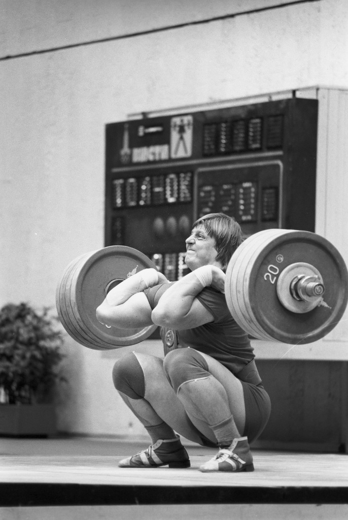Weightlifters need a high degree of mobility.  The great Tarenenko illustrates this perfectly, via his catch position with a 550+ pound clean and jerk.