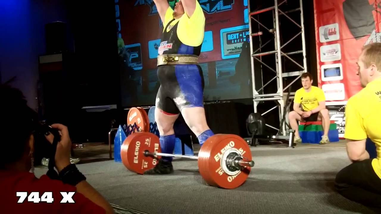 blaine deadlift