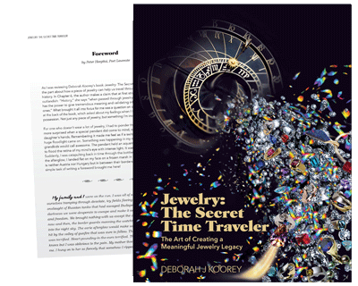 Jewelry The Secret Time Traveler: Foreword excerpt by Peter Hargitai