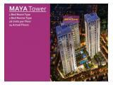 Dijual apartemen Pondok Indah Residence Tower Maya 1BR dan 2BR