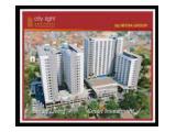 Jual Apartemen City Light Apartment Tangerang - Studio 22m2 Unfurnished