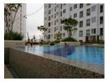Bassura City 2BR atas mall tower Cattleya hadap kolam basura
