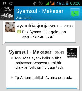 Testimonial dari Bapak Syamsul di Makasar