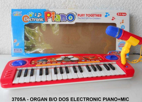 Organ Elektronik Piano + Mic