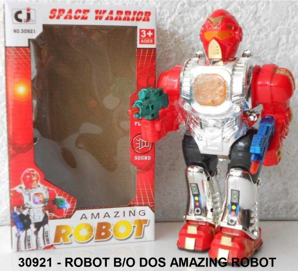 Space Warrior Amazing Robot