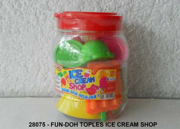 Mainan Anak FUN-DOH Toples Ice Cream Shop