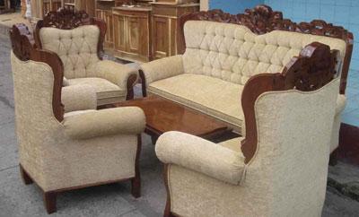 Jual Kursi Tamu Jati Sofa Berkualitas