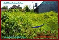 TANAH MURAH di CANGGU JUAL 200 m2 Lingkungan villa