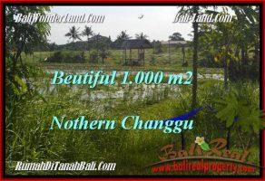 JUAL MURAH TANAH di CANGGU BALI 1,000 m2  View laut dan sawah link villa