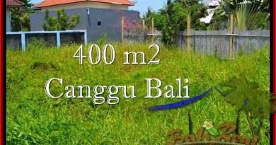 JUAL MURAH TANAH di CANGGU BALI 400 m2 Lingkungan villa