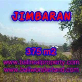 JUAL TANAH MURAH di JIMBARAN 375 m2 View laut dan bandara