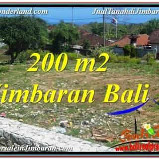 TANAH MURAH di JIMBARAN 200 m2 di Jimbaran Kutuh