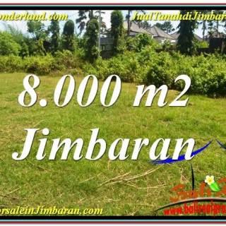 JUAL TANAH MURAH di JIMBARAN 8,000 m2 Lingkungan Villa