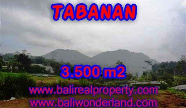 INVESTASI PROPERTI DI BALI - TANAH DI BALI, MURAH DI TABANAN DIJUAL RP 900.000 / M2 - TJTB102