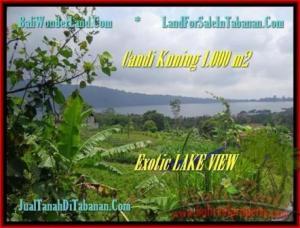 TANAH JUAL MURAH  TABANAN 10 Are View Danau Beratan dan Gunung