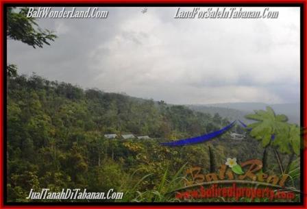 JUAL TANAH MURAH di TABANAN 105 Are View gunung dan kebun