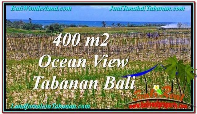 JUAL TANAH di TABANAN 450 m2 View Laut, Gunung dan sawah