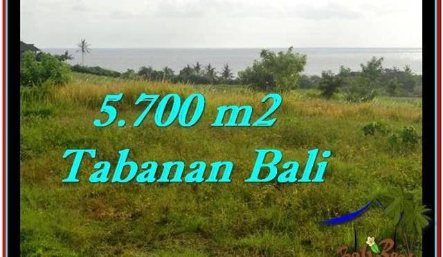 JUAL MURAH TANAH di TABANAN BALI 57 Are View sawah, laut dan gunung