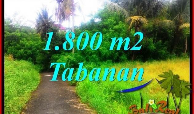 JUAL TANAH MURAH di TABANAN 1,850 m2 di Tabanan Selemadeg
