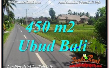 JUAL TANAH di UBUD BALI 5 Are View Sawah, Llink. Villa