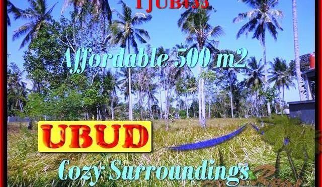 JUAL MURAH TANAH di UBUD BALI Untuk INVESTASI TJUB433