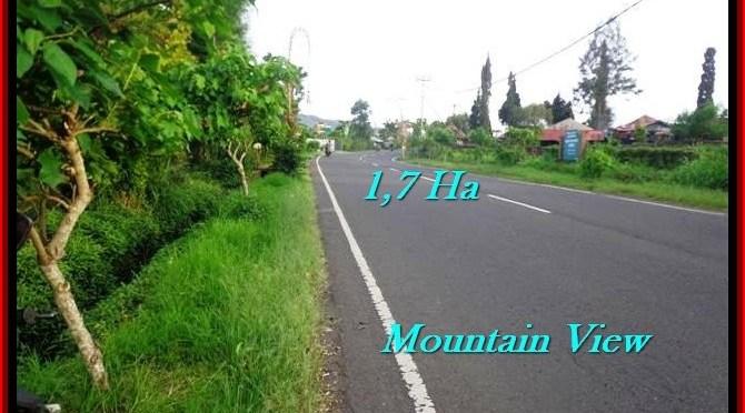 JUAL TANAH di TABANAN 170 Are view Gunung