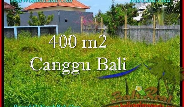 TANAH MURAH di CANGGU BALI DIJUAL Untuk INVESTASI TJCG189